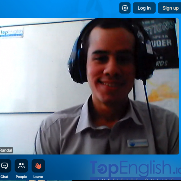 ONLINE LESSONS TOP ENGLISH 2020 pic with randal