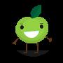 cartoon-apple-green-200